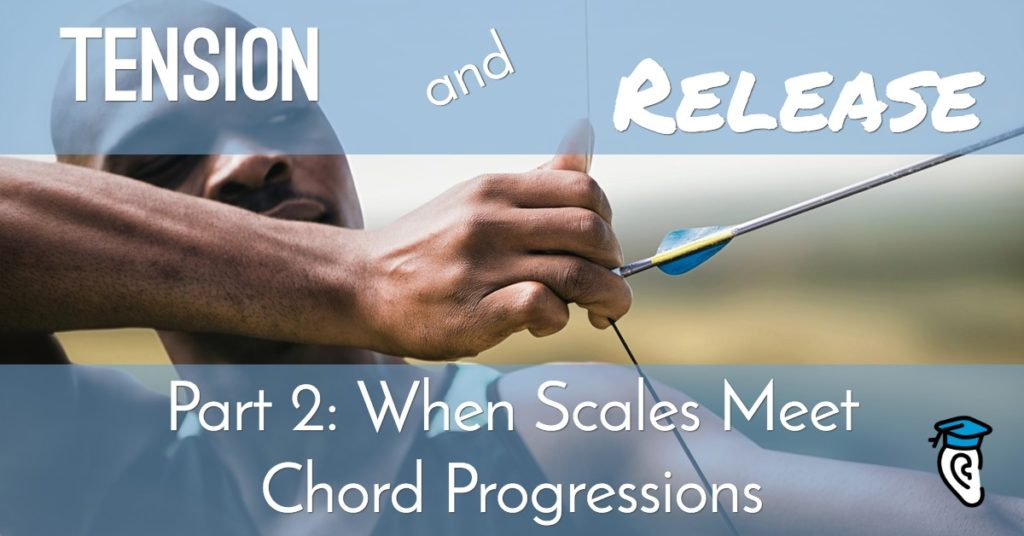 Tension and Release: When Scales Meet Chord Progressions