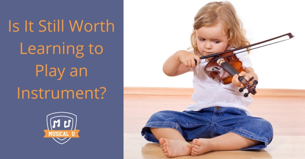 Is It Still worth Learning to Play an Instrument?