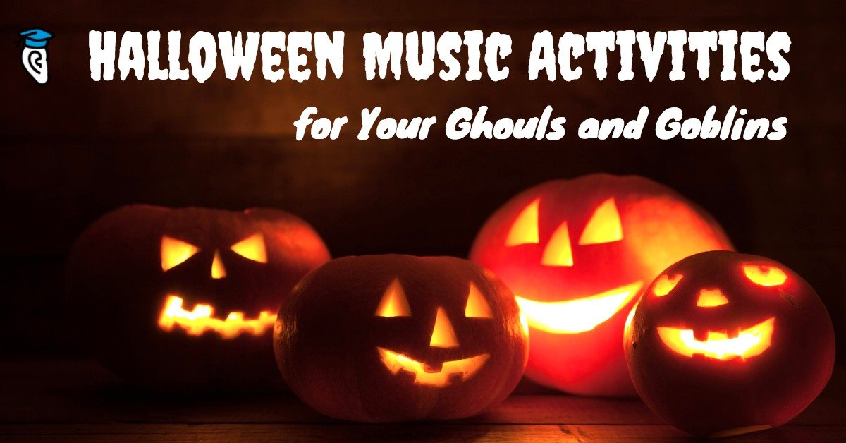 Halloween Music Activities for Your Ghouls and Goblins