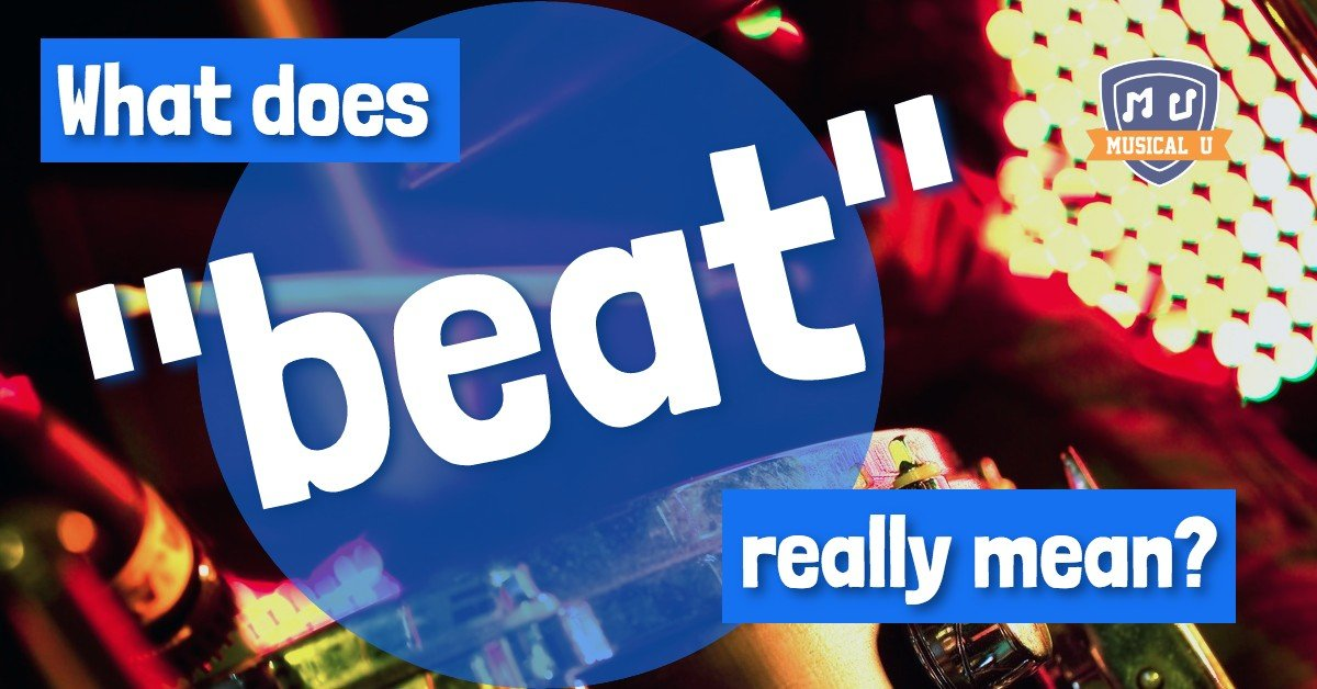 "Speaking of Rhythm: What does ""beat"" really mean?"