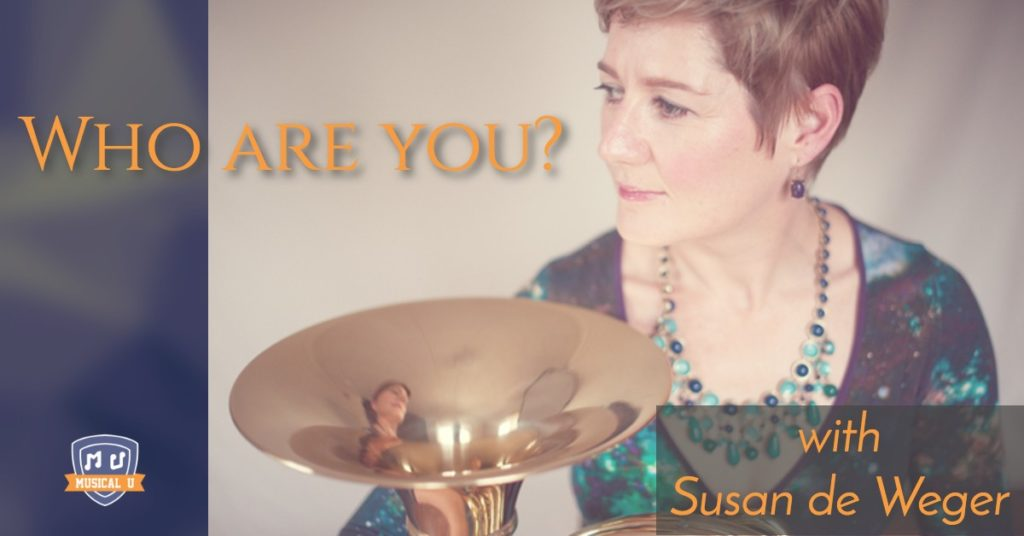 Who are you? Your identity will shape your music career, with Susan de Weger