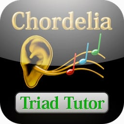 Chordelia: Triad Tutor - learn to recognise the most important types of chord!