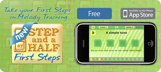 Step and a Half: First Steps app for iPhone