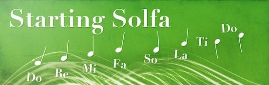 Learn Solfa to Recognise Notes By Ear