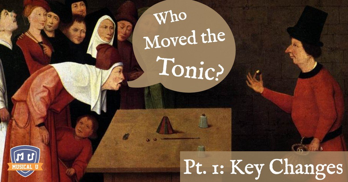 Who Moved the Tonic? Part 1: Hearing Key Changes