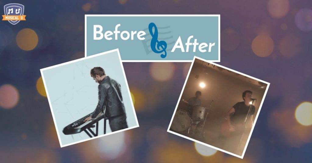 Before and After: Covering Zedd