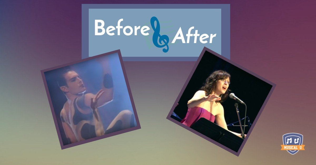 Before and After: Covering Queen