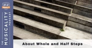 Musicality Podcast - About Whole and Half Steps