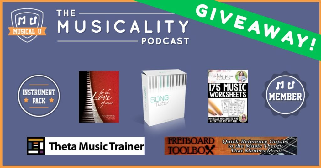 The Musicality Podcast Launch: Prize Giveaway!