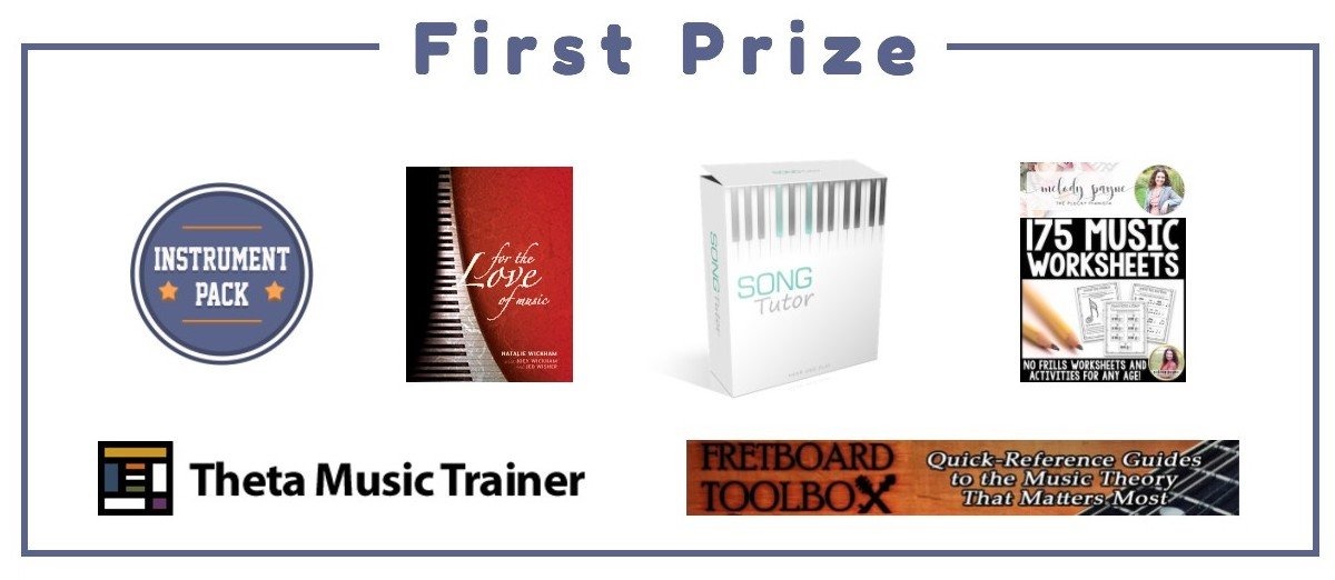 Musicality Podcast Launch Giveaway First Prize The Musicality Podcast Launch: Prize Giveaway!
