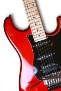 red Stratocaster guitar G4 guitar method