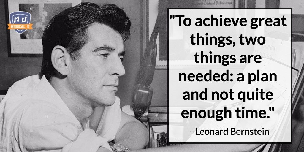 Quote by Leonard Bernstein