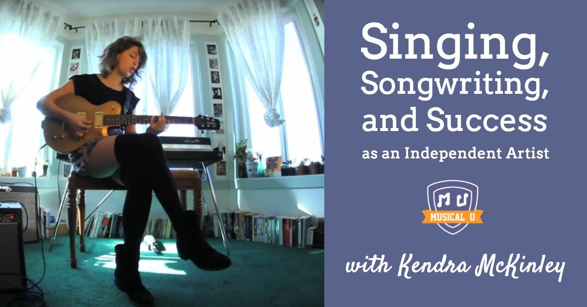 singing songwriting and success as an independent artist with kendra mckinley