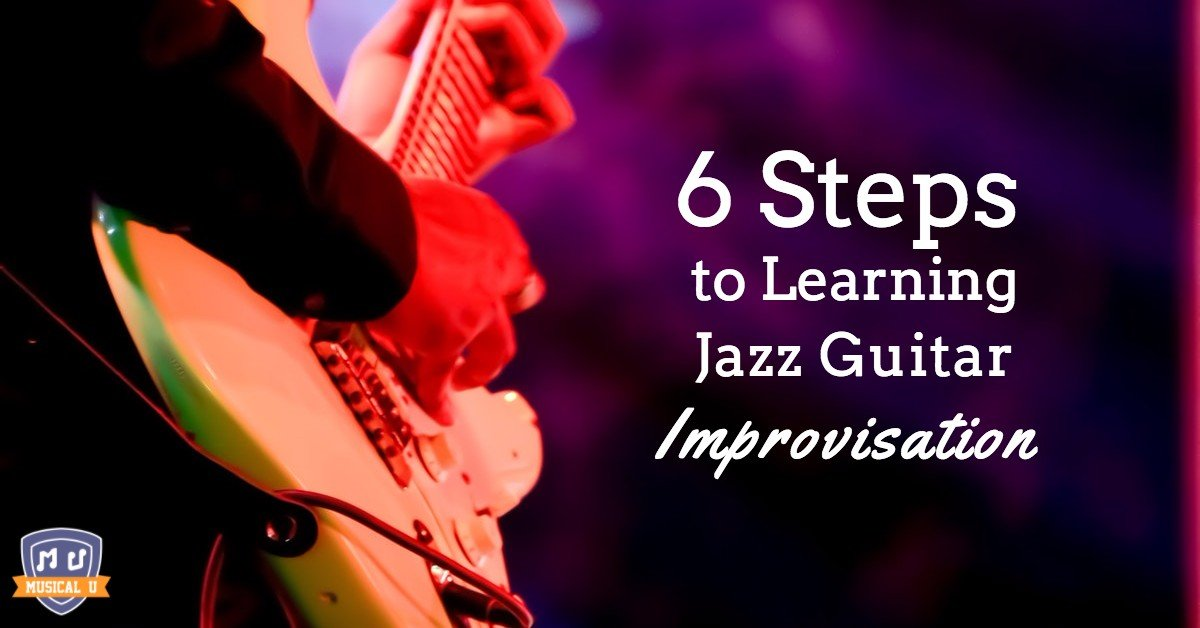 Jazz guitar improv