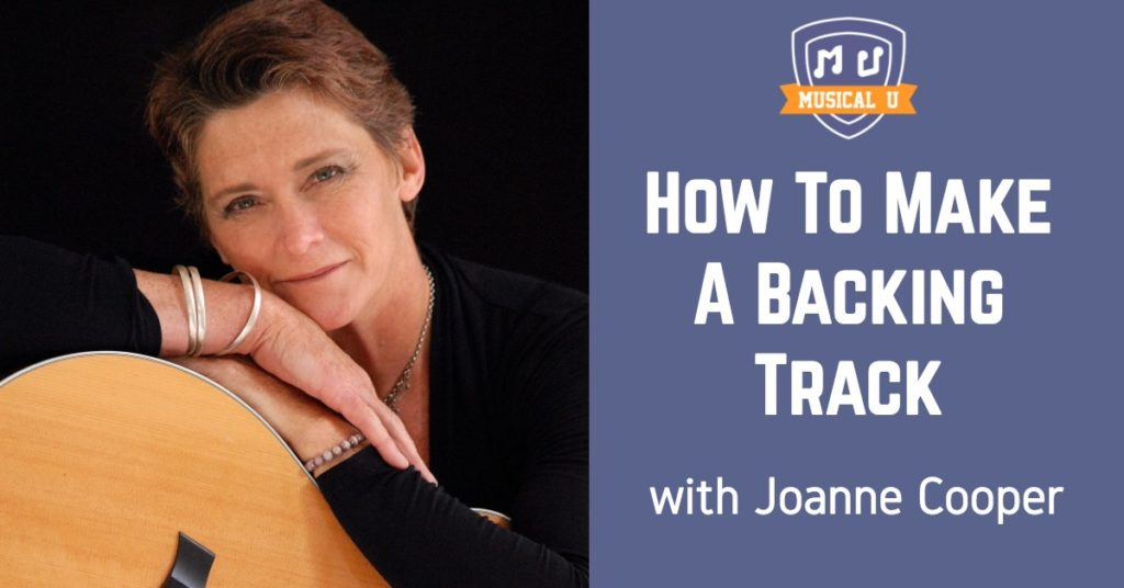 How To Make A Backing Track, with Joanne Cooper