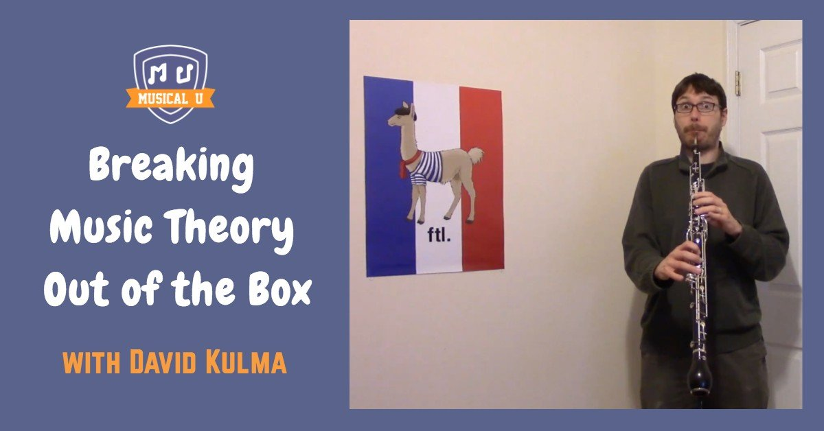 Breaking Music Theory Out of the Box, with David Kulma
