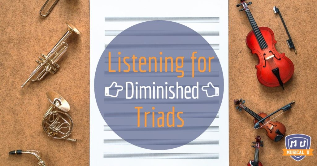 Listening for Diminished Triads