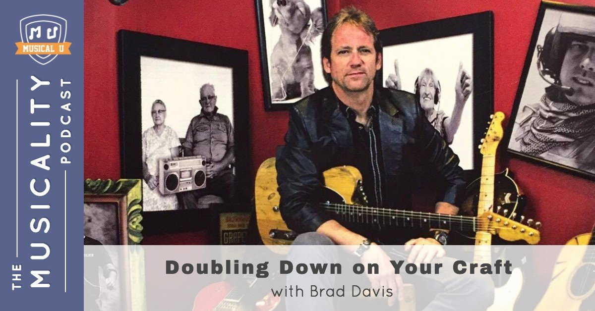 TMP048 Doubling Down on Your Craft with Brad Davis FI Double Down on Music, Swingin' Rhythms, Centering Music, and the Art of Arranging