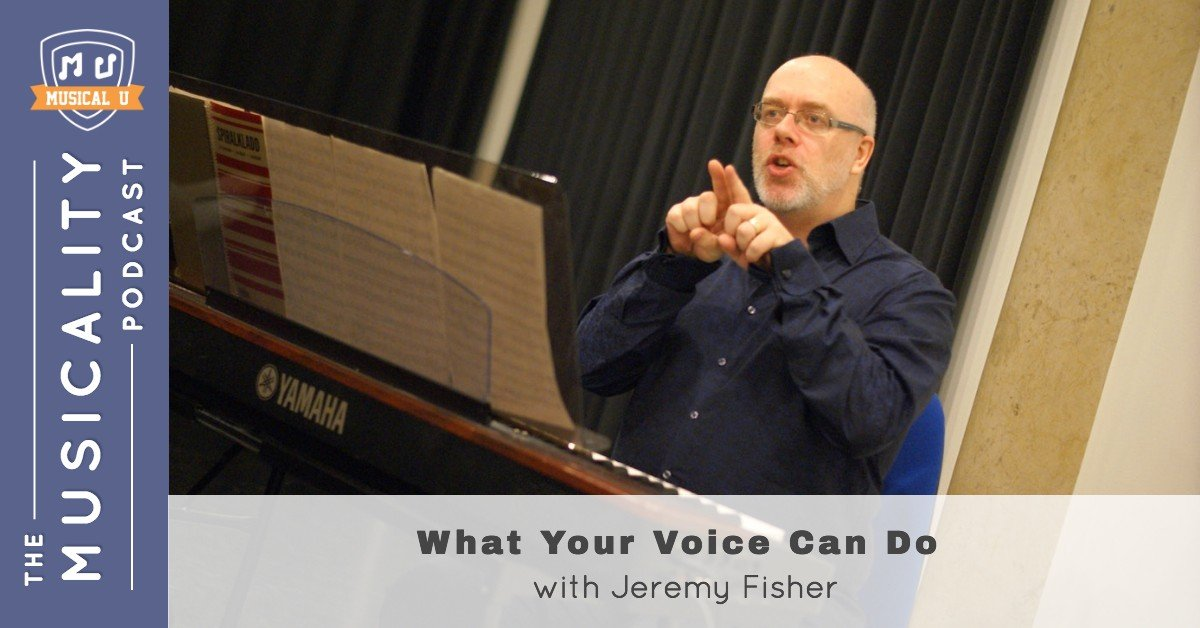 What Your Voice Can Do, with Jeremy Fisher