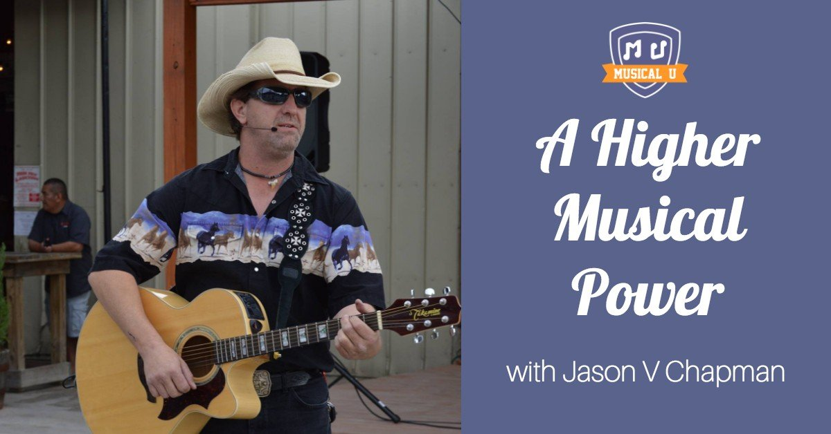 A Higher Musical Power, with Jason V. Chapman