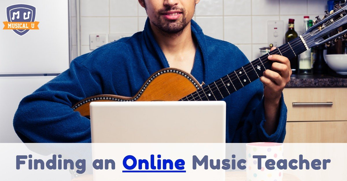 Finding an Online Music Teacher