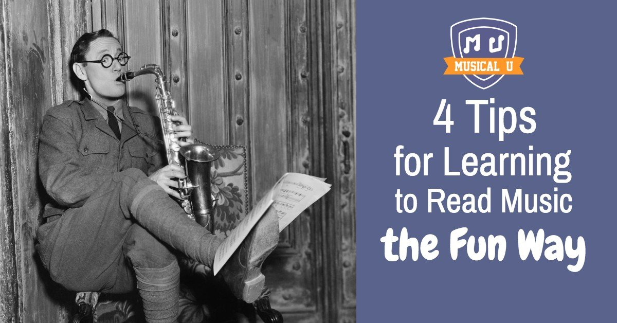 4 Tips for Learning to Read Music – the Fun Way