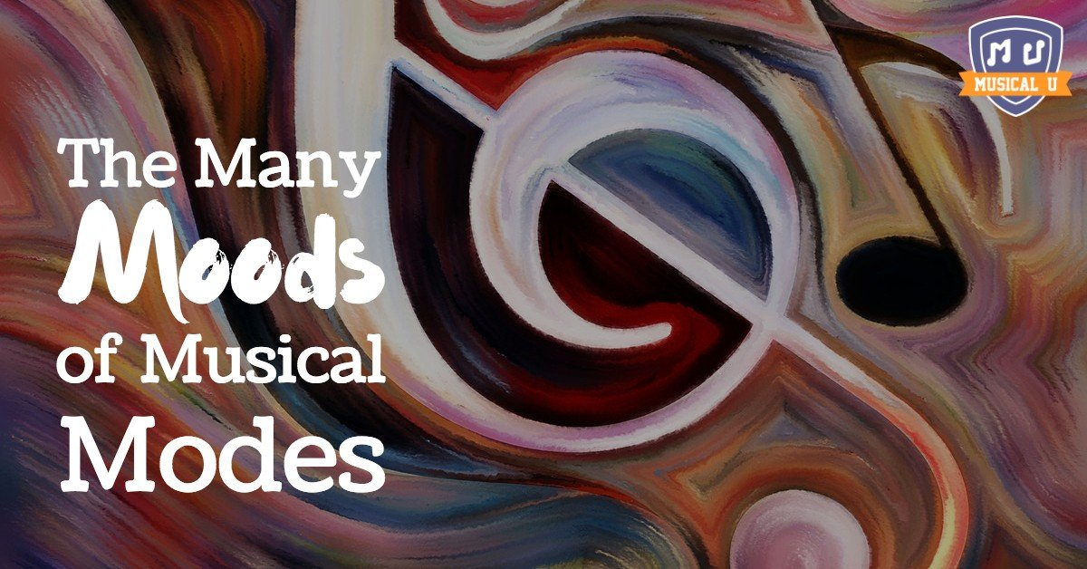 The Many Moods of Musical Modes