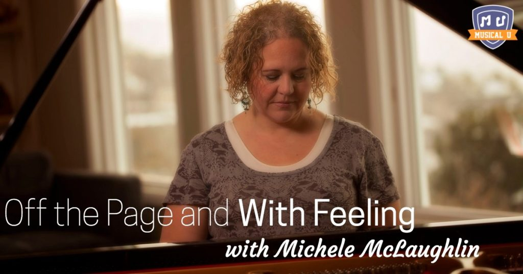 Off the Page and with Feeling, with Michele McLaughlin