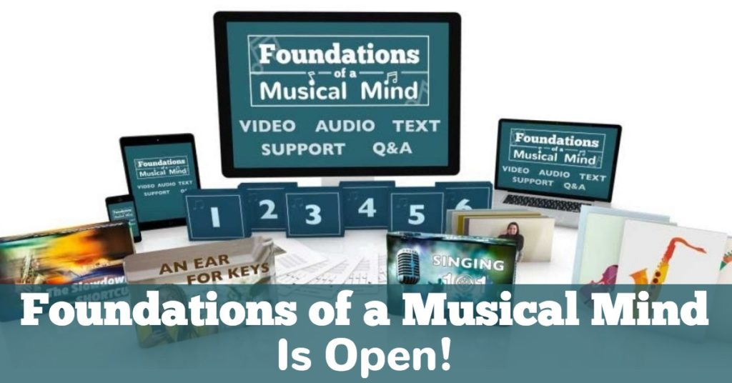 Foundations Of A Musical Mind Is Open!