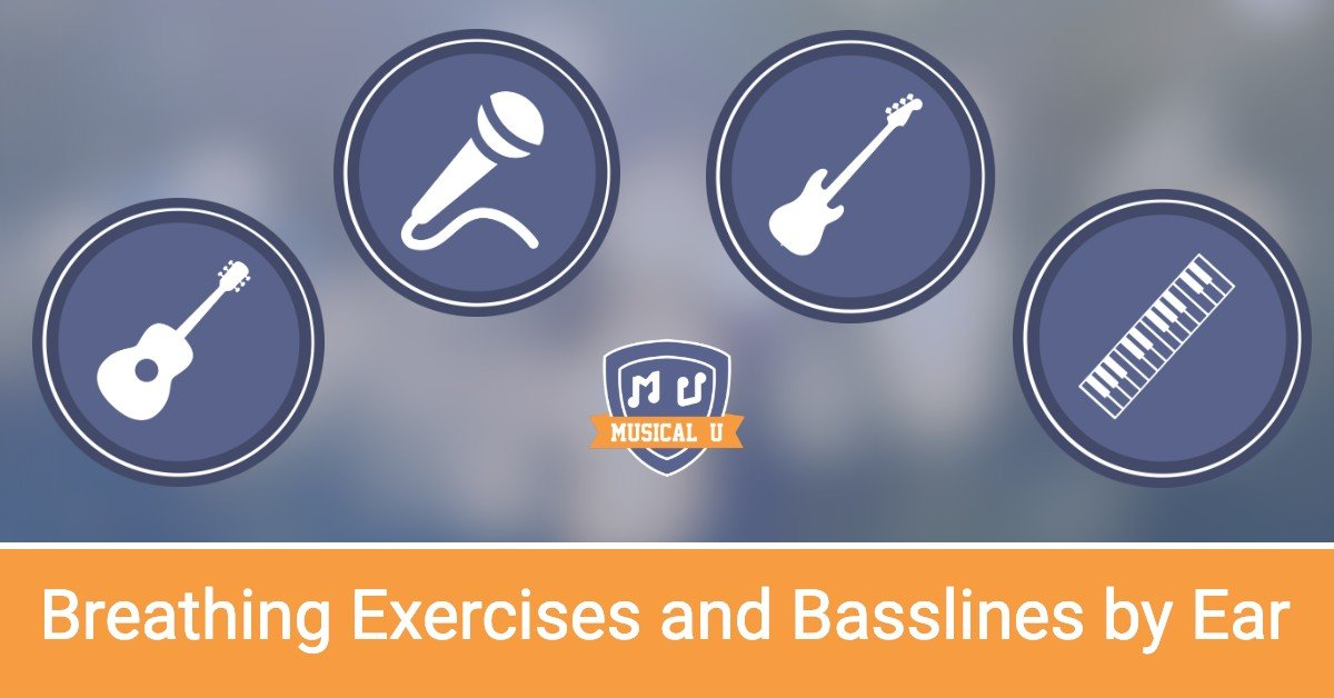 Breathing with Vocal Exercises and Play Basslines by Ear: Resource Pack Preview