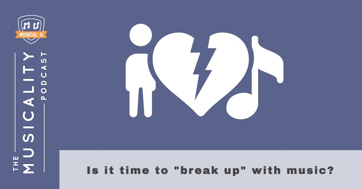 """Is it time to """"break up"""" with music?"""