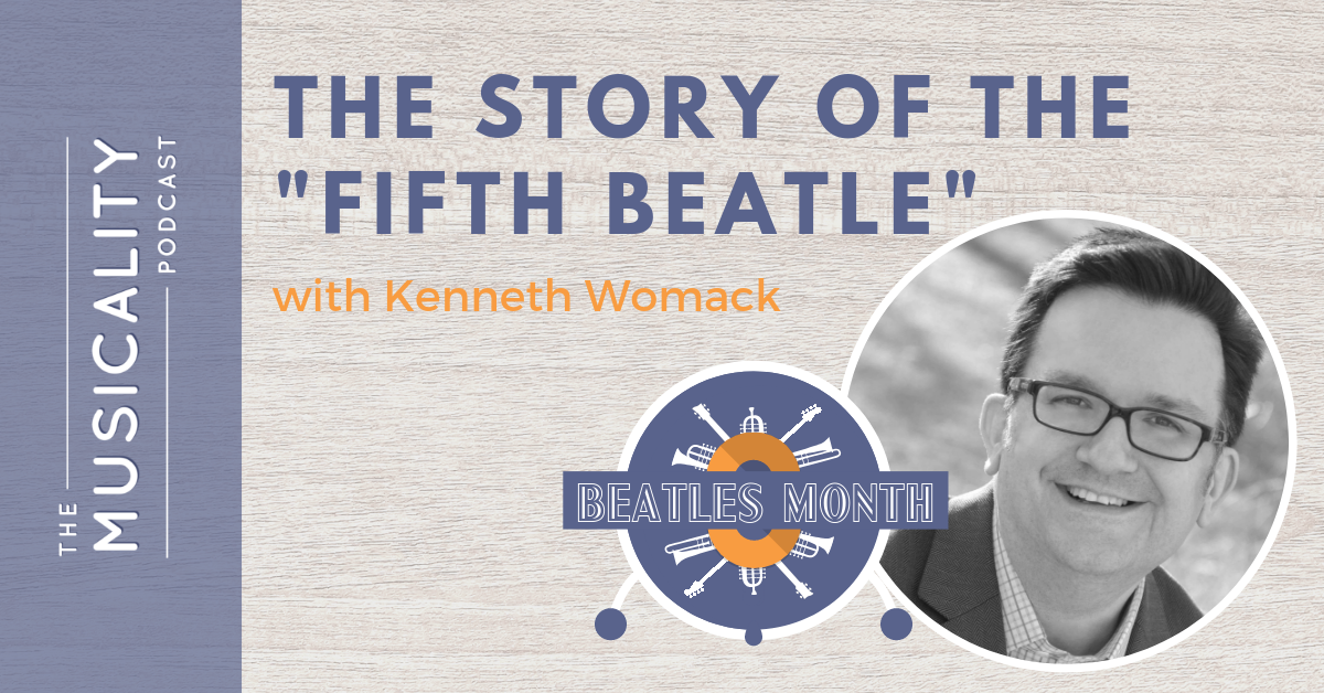 "The Story of the ""Fifth Beatle"", with Kenneth Womack"