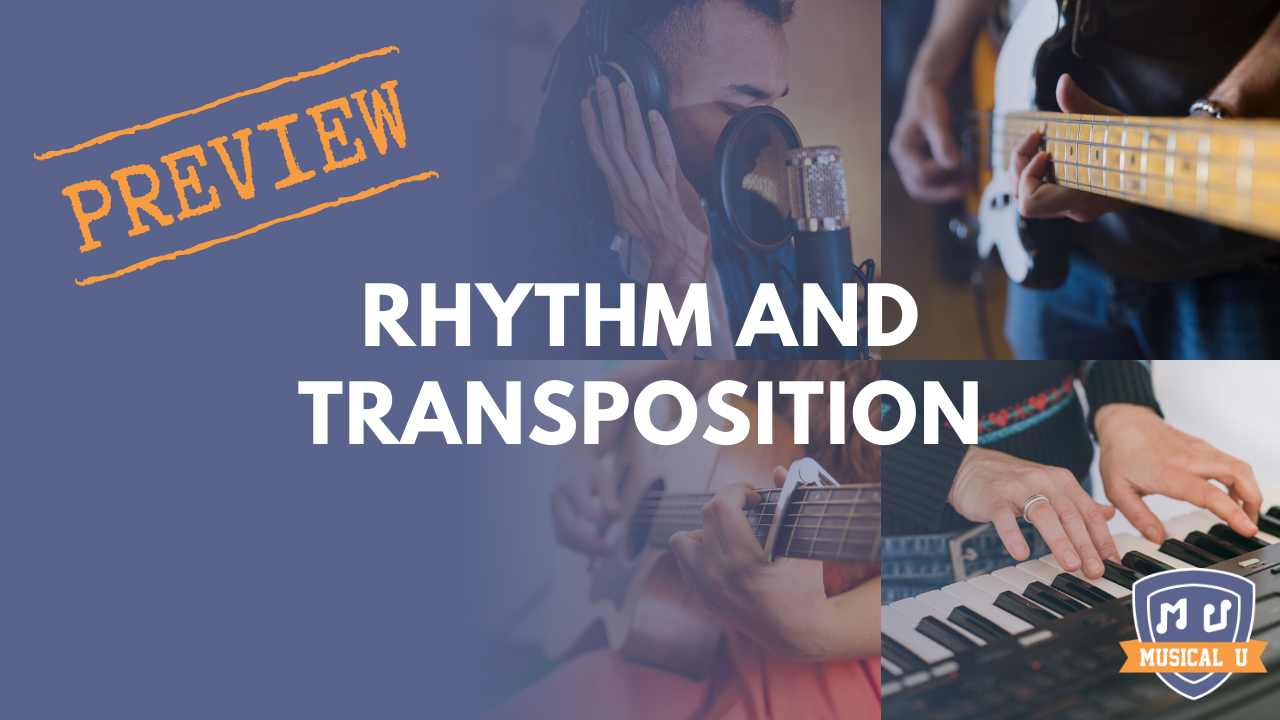 Rhythm and Transposition: Resource Pack Preview