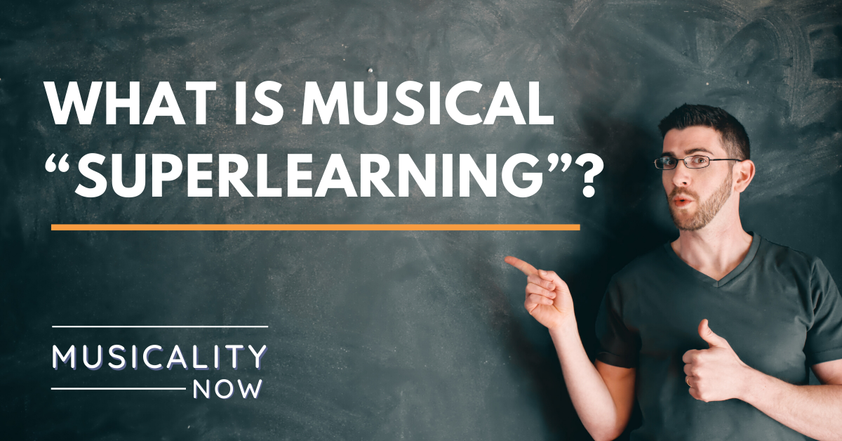 "What is musical ""superlearning""?"